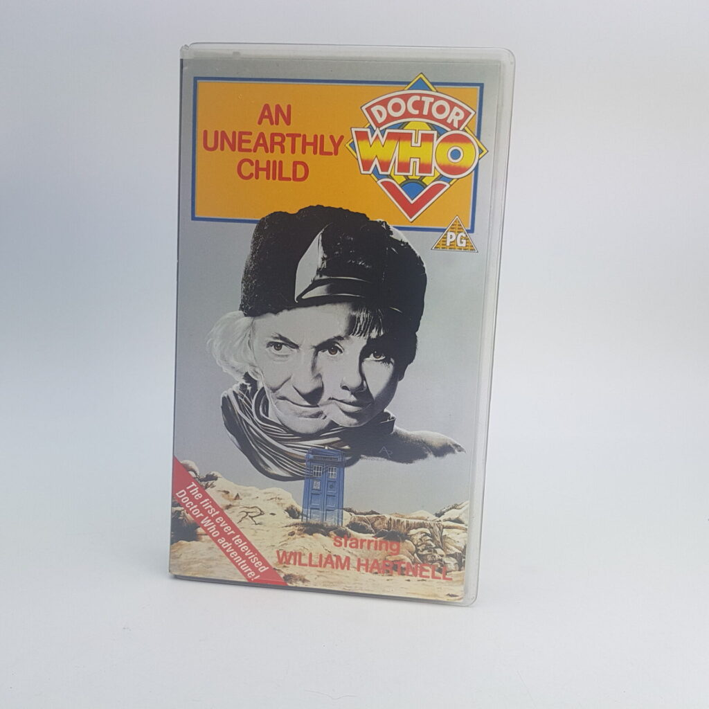 Doctor Who An Unearthly Child BBC Video VHS (1990) UK PAL BBCV4311 | Image 1