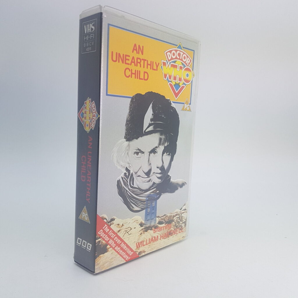 Doctor Who An Unearthly Child BBC Video VHS (1990) UK PAL BBCV4311 | Image 2