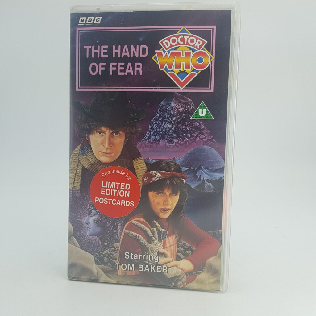 Doctor Who THE HAND OF FEAR Video VHS BBC [Season 14] UK PAL | Image 1
