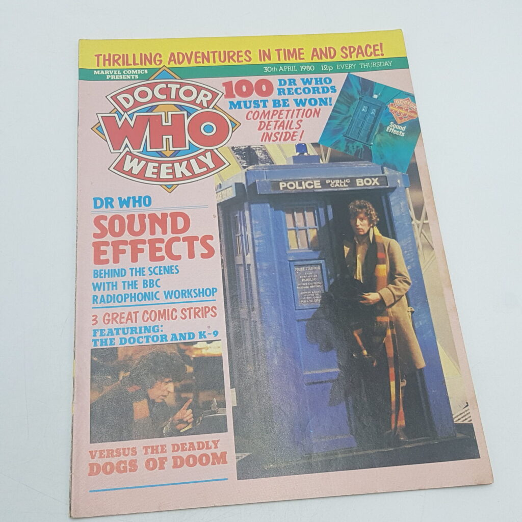 Doctor Who Weekly #29 30th April, 1980. Sound Effect LP & Dogs of Doom [G+] | Image 1