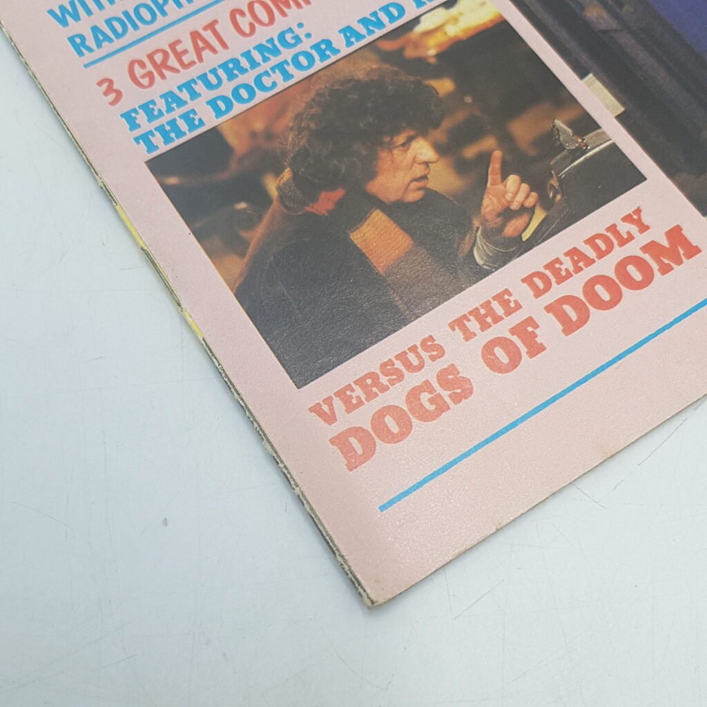 Doctor Who Weekly #29 30th April, 1980. Sound Effect LP & Dogs of Doom [G+] | Image 3
