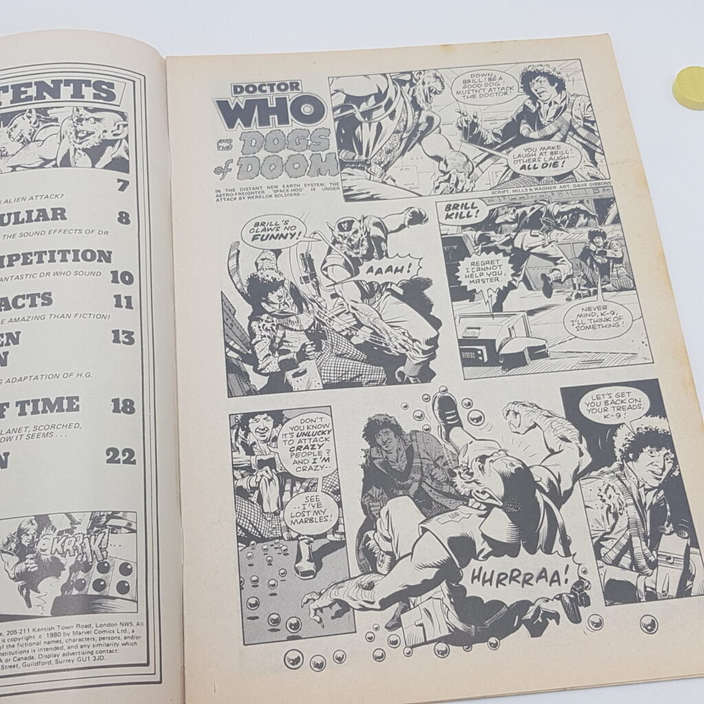 Doctor Who Weekly #29 30th April, 1980. Sound Effect LP & Dogs of Doom [G+] | Image 6