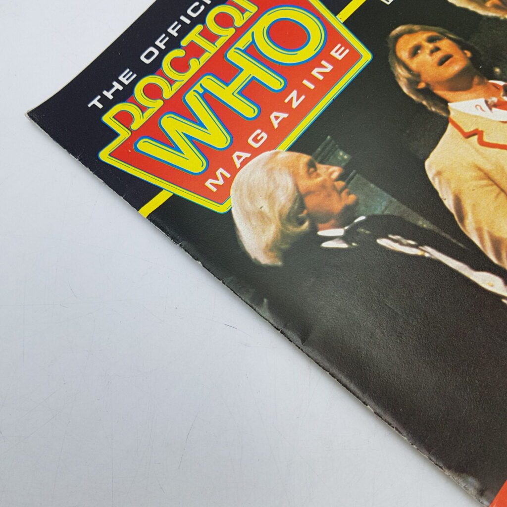 Doctor Who Monthly Magazine #95 Dec. 1984 Terrance Dicks Interview [VG] | Image 2