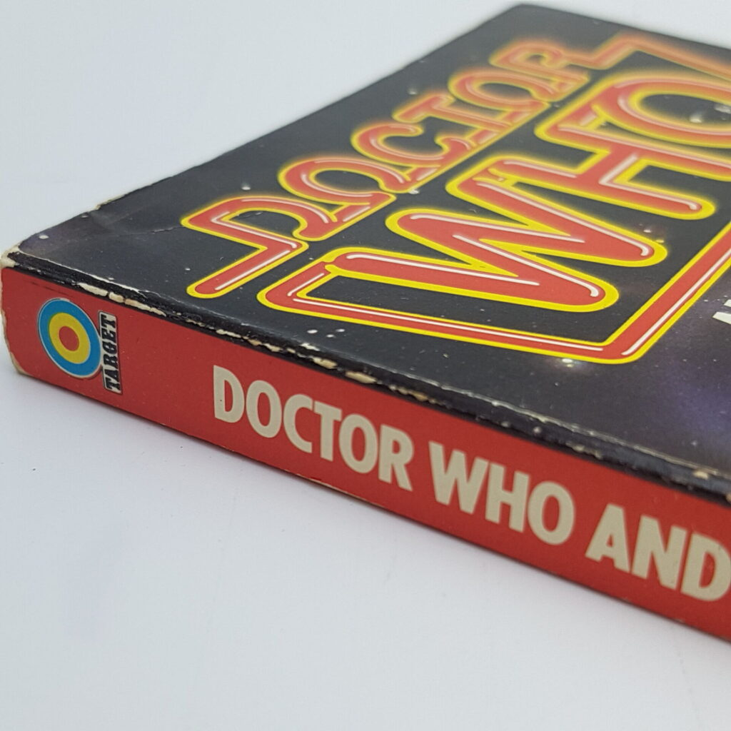 Doctor Who AND THE CYBERMEN (1982) 4th Ed. Target Paperback [VG+] Moonbase   Image 3