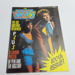 Doctor Who Magazine #100 May, 1985 (Marvel) Poster Included [G+] Robert Holmes   Image 1