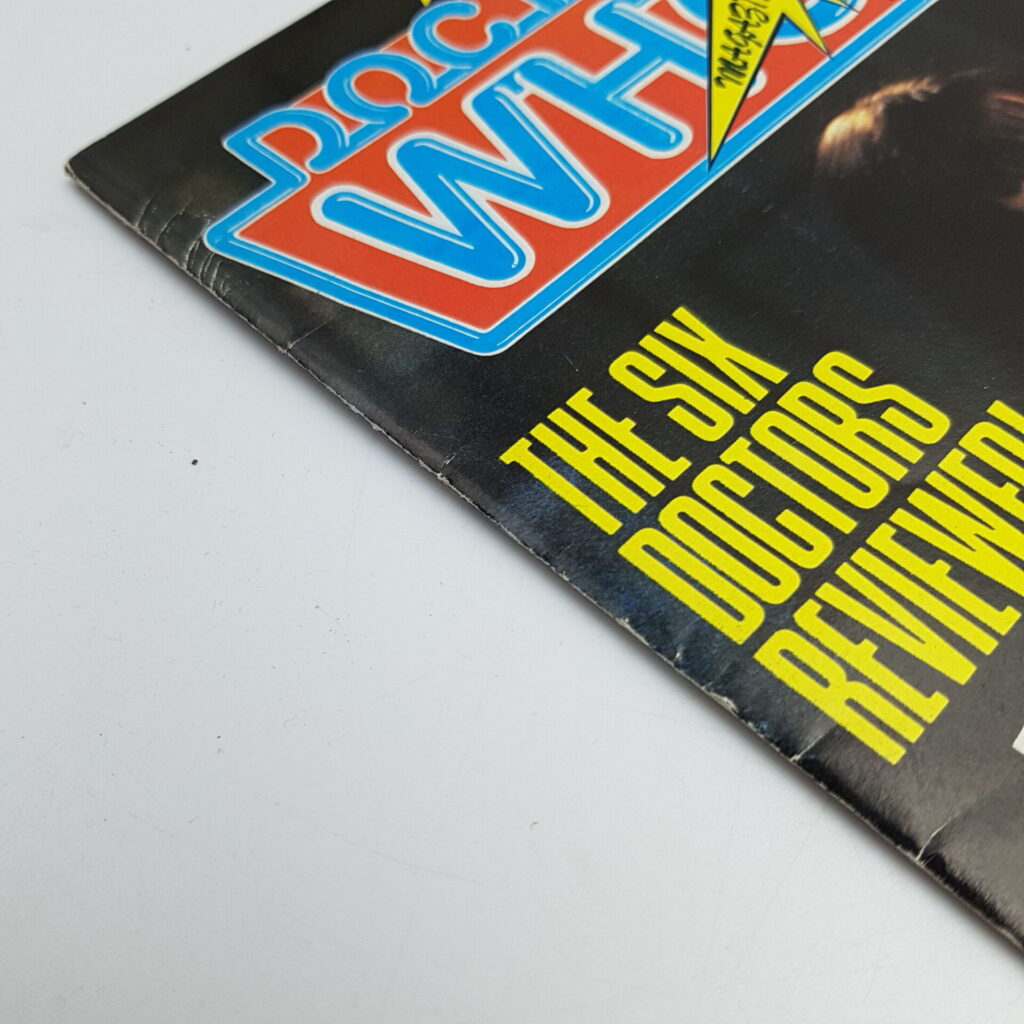 Doctor Who Magazine #100 May, 1985 (Marvel) Poster Included [G+] Robert Holmes   Image 2