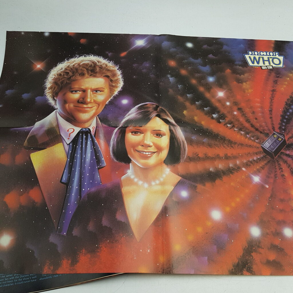 Doctor Who Magazine #100 May, 1985 (Marvel) Poster Included [G+] Robert Holmes   Image 5
