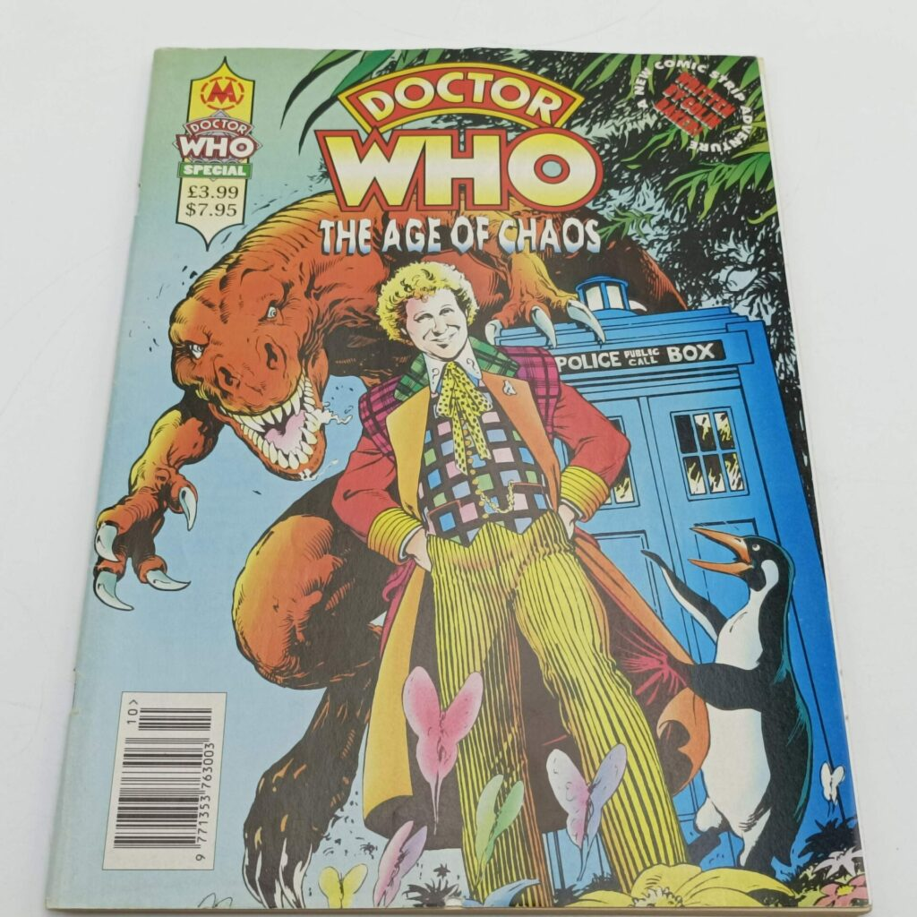 Doctor Who Magazine Special THE AGE OF CHAOS by Colin Baker (1994) UK Marvel [G+] | Image 1